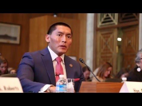Arizona State Senator Carlyle Begay - Senate Testimony