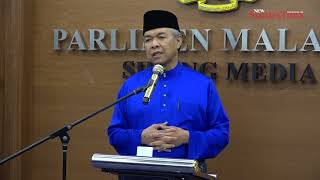 Zahid: Opposition probably frustrated our budget is better
