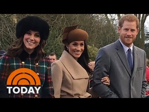 Meghan Markle Celebrates Her First Christmas With The Royal Family | TODAY