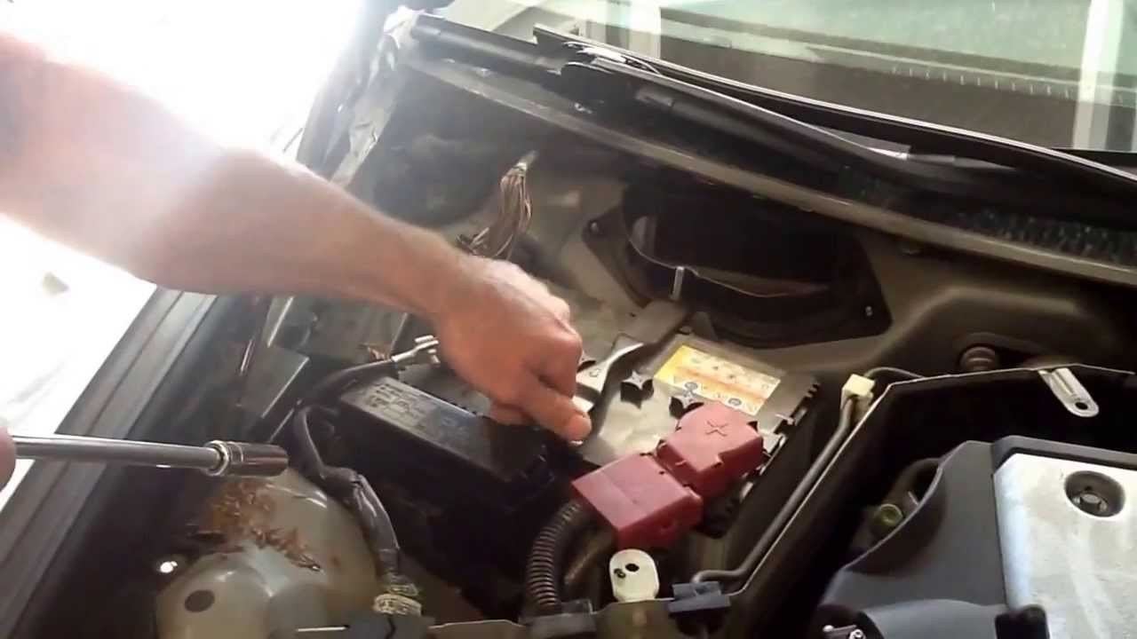How To G37 Battery Swap Instruction Youtube