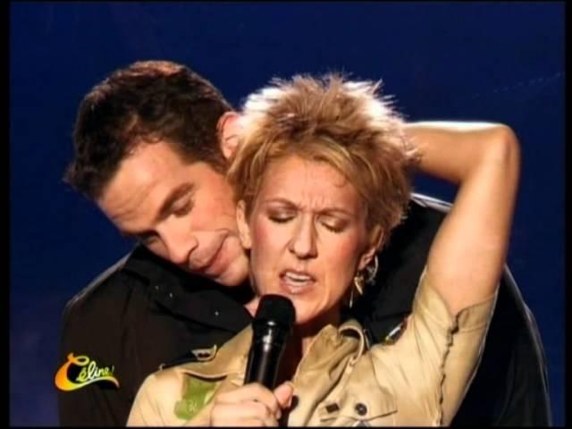 Celine Dion Et Garou - Sous Le Vent (Live) #1