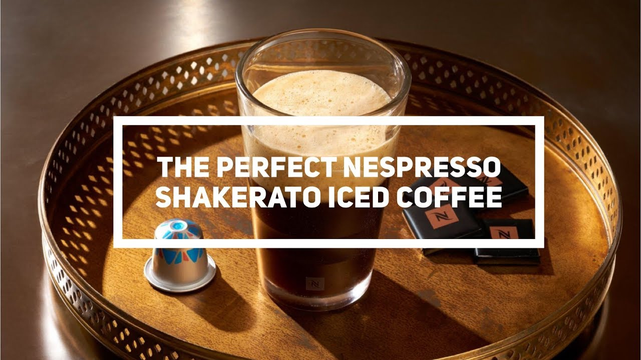 Chill Out This Summer With A Nespresso Caffè Shakerato
