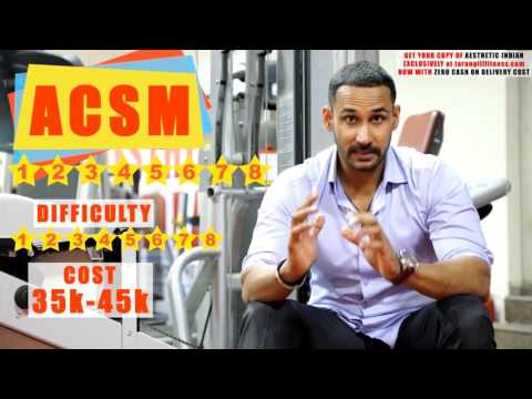 Best fitness courses to study in India- SIMPLE AND EASY