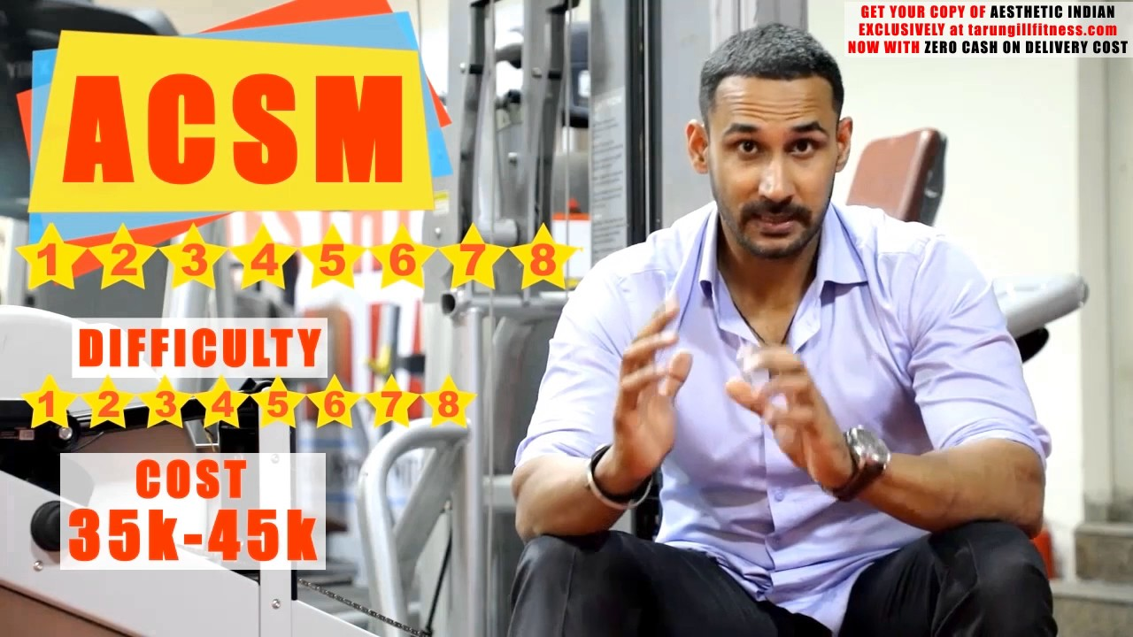 Best Fitness Courses To Study In India Simple And Easy Youtube