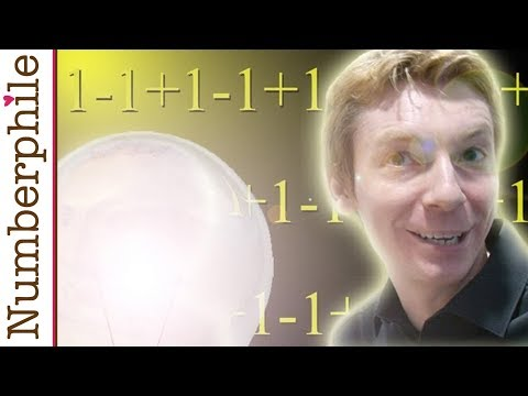 One minus one plus one minus one - Numberphile
