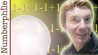 One minus one plus one minus one - Numberphile thumbnail