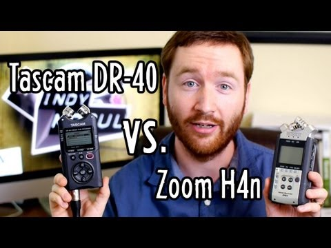 Outdoor Video Gear + Audio Recorder Showdown: Zoom H4n vs. Tascam DR-40