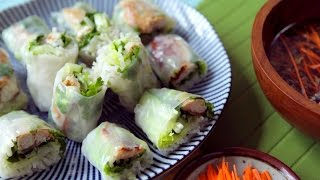 How To Make Fresh Mackerel Spring Rolls