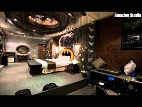 Batman Bedroom Designs