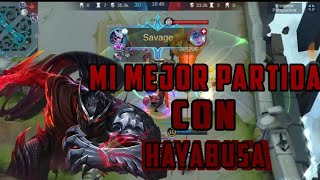savage con hayabusa |#mobilelegendsbangbang