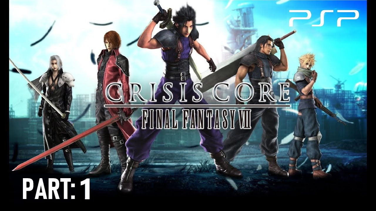 Crisis Core - Final Fantasy VII ISO ROM Download for PSP