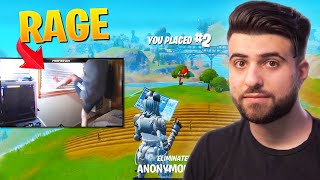 Reacting to Fortnite RAGE....