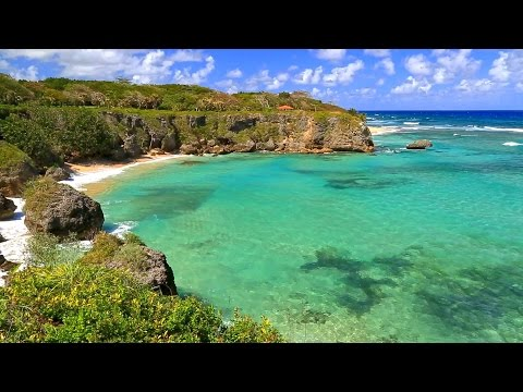Relaxing Piano Music with Ocean Sounds, HD Video 1080p with