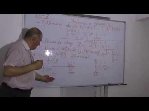 1/2 Lectia 542 - Multimea numerelor rationale - Operatii in Q - Fractii - Recapitulare Clasele 5-8