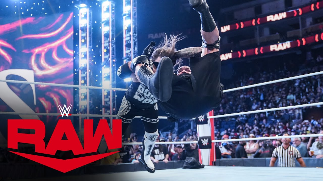 Download Randy Orton slides in to save Riddle with a surprise RKO on AJ Styles: Raw, Oct. 11, 2021