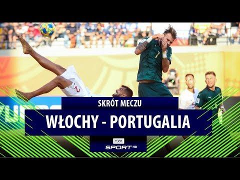 Europejski finał dla Portugalii! Włochy pokonane | Finał MŚ wbeach soccerze [SKRÓT]