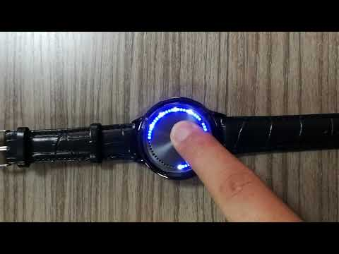 SPINOZA  LED Touch Screen Watch Unique Cool Watch Digital Watch - For Boys