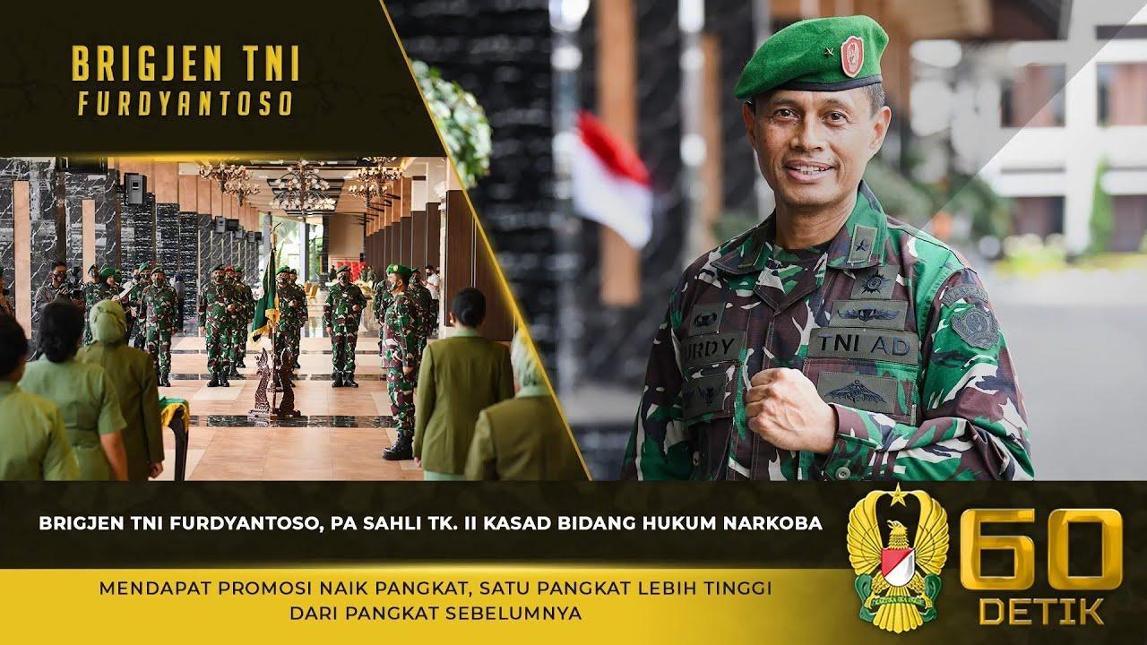 Brigjen TNI Furdyantoso, Pa Sahli Tk. II Kasad Bidang Hukum Narkoba