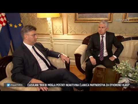 DRAGAN ČOVIĆ PRIJETI PREKIDOM EVROPSKOG PUTA BIH (02 12 2017)