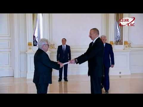 Президент Ильхам Алиев принял новоназначенного посла Греции