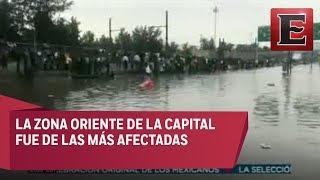 Emergencia en CDMX por fuertes lluvias