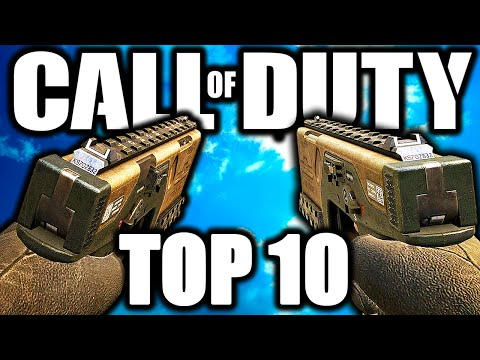 """Top 10 """"OVERPOWERED AKIMBO GUNS"""" in COD HISTORY (Top Ten) Call of Duty"""