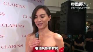 Mandy Lieu無懼山區拍戲 同村民零距離互動
