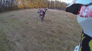 Enduro fun + angry guy