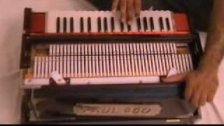 HARMONIUM   WIND  MUSICAL INSTRUMENT STALLONE INDIA ID CODE NO.SOB11007 www.stalloneoverseas.com.avi