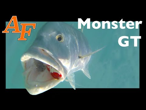 Monster GT fishing Toughest Fish in the Ocean Surface strikes EP.373