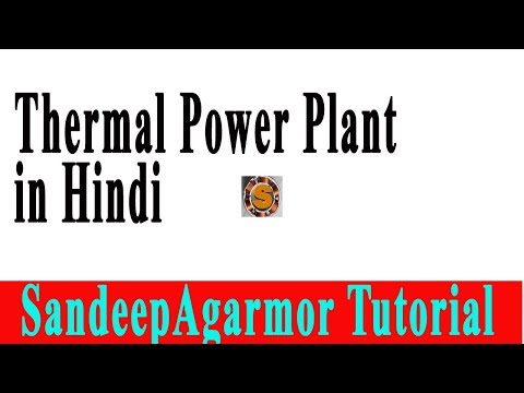 thermal power plant in hindi