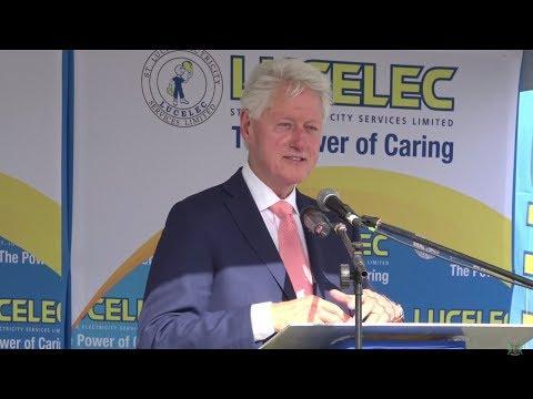Opening Ceremony of LUCELEC 3MW Solar Farm