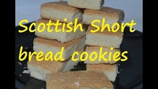 Short Bread Cookies Eggless Recipe.how To Do Scottish Shortbread Video By Chawla's Kitchen