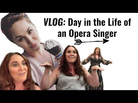 VLOG: Day in the Life of an Opera Singer | #BTS at Opera Santa Barbara