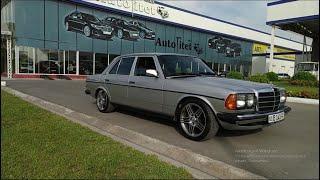 Mercedes W123 250at 1983г.  Когда любишь свой легендарный Мерс )