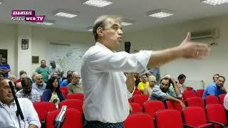 Ένταση στο δημοτικό συμβούλιο Παιονίας για υδροηλεκτρικό στο Πάικο-Eidisis.gr webTV