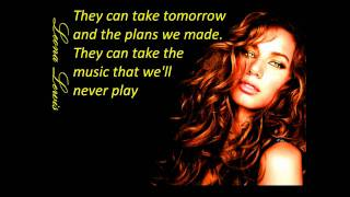 Leona Lewis Yesterday lyrics