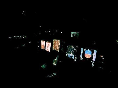 Gulfstream Instrument View Night Landing Teterboro--NYC Skyline - Pilot VLOG 32