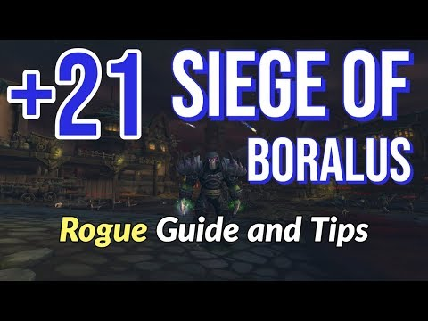 Siege of Boralus +21 Mythic Plus Guide (Subtlety Rogue POV)