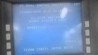 Cara Pembayaran Iuran BPJS Via ATM BRI (How To Payment BPJS Via ATM BRI)