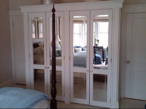 Superior Frameless Mirror Bifold Closet Doors