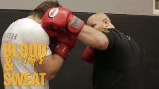 Передний боковой: как бить, как поставить удар. Техника бокса. Игорь Смольянов. Boxing.