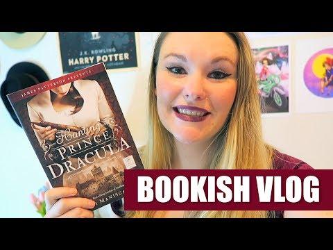 Bookish Vlog #3 - Haul, BookTube, Reading, PUMPKIN THINGS