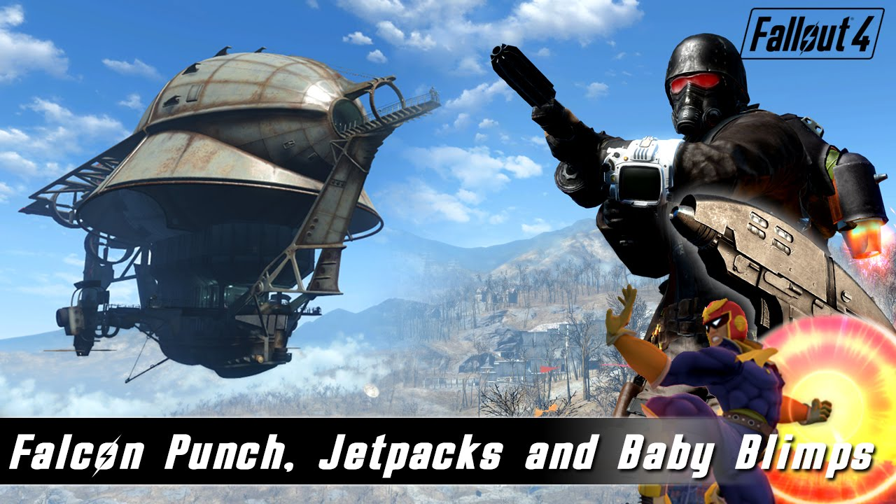 Fallout 4 Mods Week 13 - Falcon Punch, Vertidrones and Sky Home! - Музыка  для Машины