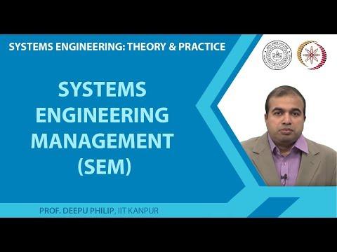 Systems Engineering Management (SEM)