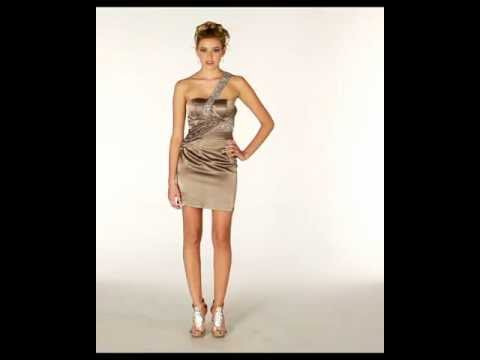 sexy-short-dress- -taupe-prom-dress