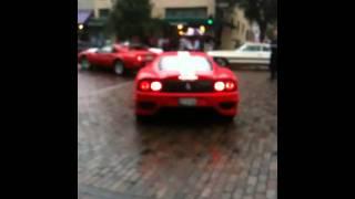 Ferrari 360 challenge stradale and porsche 911 park avenue