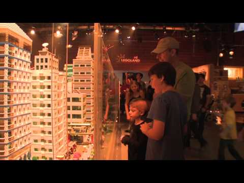 The Lego Movie Experience gives guests at Legoland California a look at the film sets