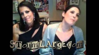 Ricki Lake & Abby Epstein sing STORM LARGE-