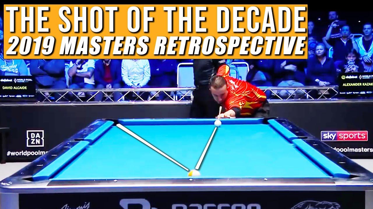 The Immortal Bank Shot from David Alcaide against Alex Kazakis | 2019 Masters Retrospective